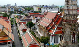 Tejados coloridos del palacio magnífico Bangkok Fotografía de archivo libre de regalías