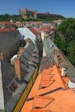 Tejados de Bratislava Imagen de archivo libre de regalías