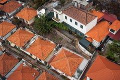 Tejados de Funchal Imágenes de archivo libres de regalías