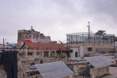 Tejados de Jerusalén - Israel Imagenes de archivo