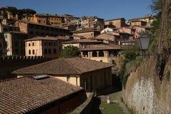 Tejados de las calles, Florencia, Italia Imagen de archivo libre de regalías