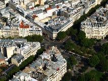 Tejados de París Imágenes de archivo libres de regalías