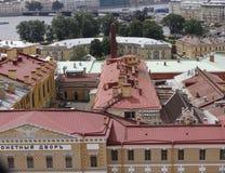 Tejados de St Petersburg Fotos de archivo