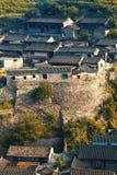 Tejados de tejas chinos Imagenes de archivo