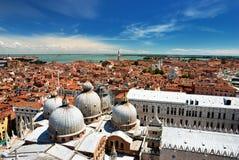 Tejados de Venecia Imágenes de archivo libres de regalías