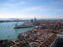 Tejados de Venecia Imagen de archivo