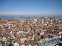 Tejados de Venecia Fotografía de archivo