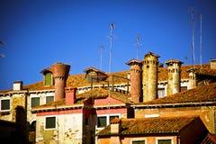 Tejados de Venecia Foto de archivo libre de regalías