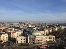 Tejados de Viena imagenes de archivo