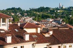 Tejados en Vicenza Foto de archivo libre de regalías