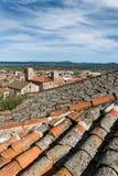 Tejados Extremedura España de Trujillo Imagen de archivo