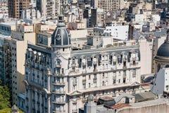 Tejados y cúpulas, Buenos Aires la Argentina Foto de archivo libre de regalías