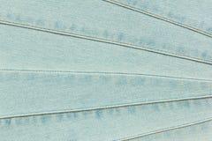 Tejanos con textura de las costuras Imágenes de archivo libres de regalías