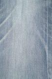 Tejanos del blanqueo de la tela de la textura Foto de archivo libre de regalías