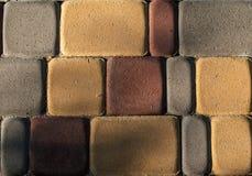Tejas abstractas de la piedra del color de la mezcla Fotografía de archivo libre de regalías