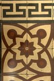 Tejas adornadas del granglia del vintage, Chiavari, Italia Fotos de archivo