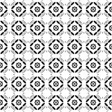 Tejas de forma diamantada blancos y negros Fotografía de archivo
