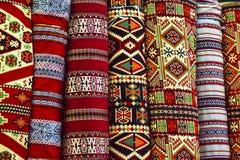 Tejas de la alfombra Foto de archivo libre de regalías
