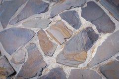 Tejas de la piedra arenisca para el fondo Fotografía de archivo libre de regalías