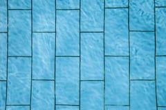 Tejas de la piscina Imagen de archivo libre de regalías