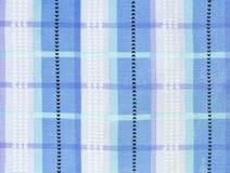 Tejas de la tela de la tela escocesa Imágenes de archivo libres de regalías