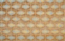 Tejas de las paredes del monasterio Imagen de archivo libre de regalías