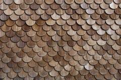Tejas de madera Imagen de archivo libre de regalías