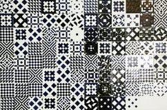 Tejas de mosaico Imagen de archivo libre de regalías
