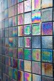 Tejas de mosaico decorativas Fotografía de archivo
