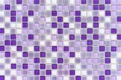 Tejas de mosaico dentro del cuarto de ba?o Fondo del mosaico de las baldosas cer?micas imagenes de archivo