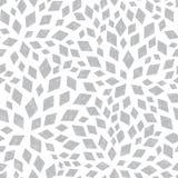 Tejas de mosaico texturizadas plata del vector inconsútiles Fotografía de archivo