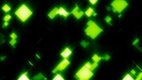 Tejas de mosaico verdes que brillan intensamente ilustración del vector