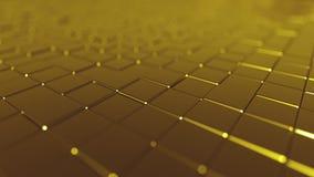 Tejas de oro de ocsilación metrajes