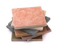 Tejas de piedra Foto de archivo libre de regalías