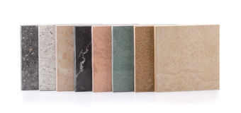 Tejas de piedra naturales Foto de archivo libre de regalías