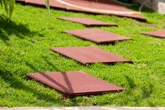 Tejas de suelo. Fotografía de archivo libre de regalías