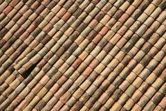 Tejas de tejado Fotos de archivo