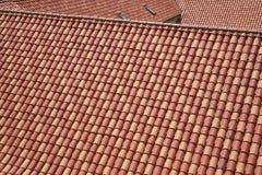 Tejas de tejado Imagen de archivo libre de regalías
