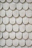 Tejas de tejado blancas Fotos de archivo
