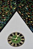 Tejas de tejado coloridas Fotos de archivo