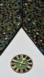 Tejas de tejado coloridas Fotografía de archivo