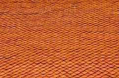 Tejas de tejado de la iglesia del budismo Fotos de archivo libres de regalías