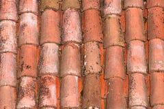 Tejas de tejado de una casa italiana en Bolonia Fotografía de archivo