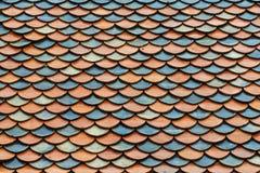 Tejas de tejado del templo Imagenes de archivo