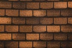 Tejas de tejado flexibles Imagenes de archivo