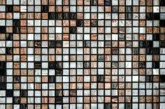 Tejas del fondo en un mosaico fotografía de archivo