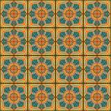 Tejas del ornamental del vector Imágenes de archivo libres de regalías