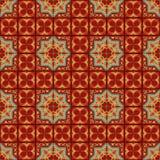 Tejas del ornamental del vector Imagen de archivo