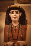 Tejas egipcias con las imágenes de la colección de museo de Neues Imagen de archivo libre de regalías