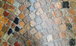 Tejas en la calle Imagenes de archivo